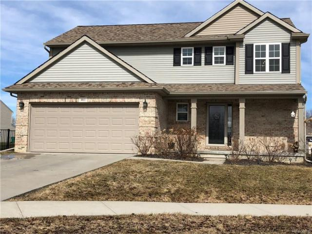 461 Ridgewood Drive S, Brandon Twp, MI 48462 (#218024365) :: Duneske Real Estate Advisors