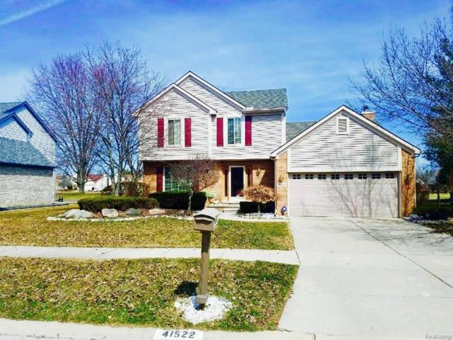 41522 Conner Creek Dr, Canton Twp, MI 48187 (MLS #218024429) :: The Toth Team