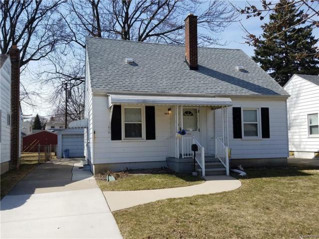 3612 Harding Street, Dearborn, MI 48124 (#218024786) :: RE/MAX Classic