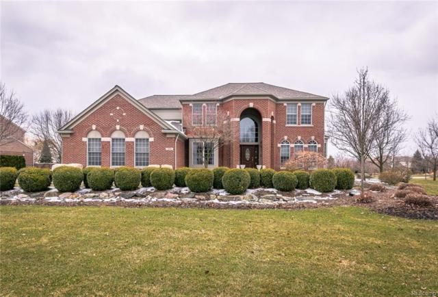 5688 Stonehaven Boulevard, Oakland Twp, MI 48306 (MLS #218025415) :: The Toth Team