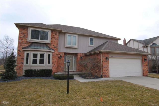 1095 Bembridge Dr, Rochester Hills, MI 48307 (#58031343335) :: Duneske Real Estate Advisors