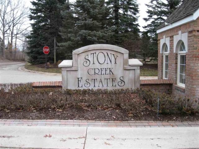 1155 Creekside Drive, Addison Twp, MI 48367 (MLS #58031343448) :: The Toth Team