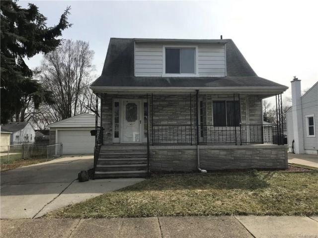 1407 Buckingham Avenue, Lincoln Park, MI 48146 (#218026237) :: Duneske Real Estate Advisors