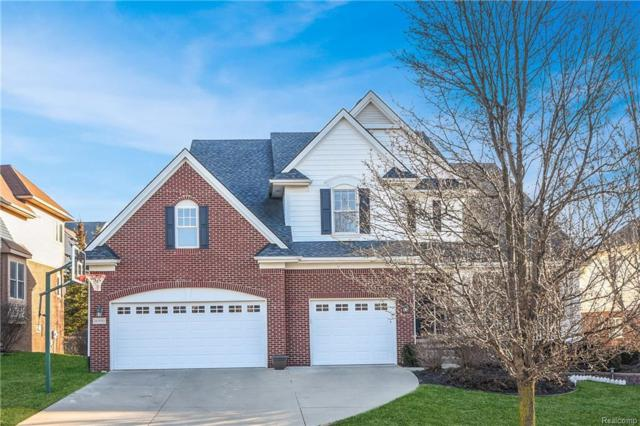 16950 Carriage Way, Northville Twp, MI 48168 (MLS #218026705) :: The Toth Team
