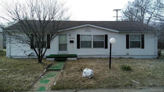 3502 Moore Street, Inkster, MI 48141 (#218027098) :: Duneske Real Estate Advisors