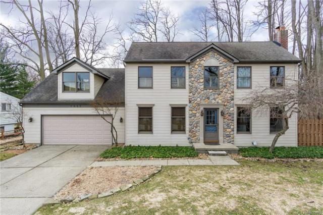 7335 Colony Drive, West Bloomfield Twp, MI 48323 (#218027339) :: Simon Thomas Homes