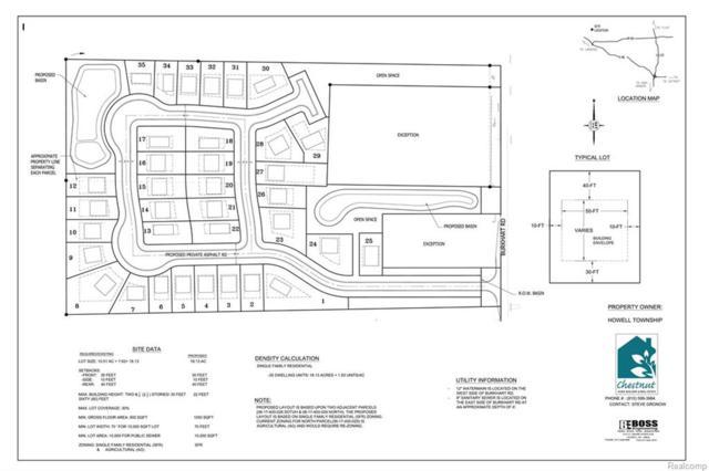 - Burkhart Road, Howell Twp, MI 48855 (#218027557) :: Duneske Real Estate Advisors