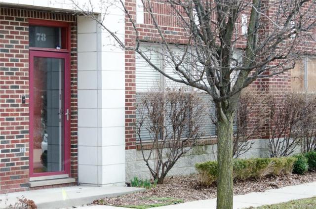 78 W Bethune Street #38, Detroit, MI 48202 (MLS #218028100) :: The Toth Team