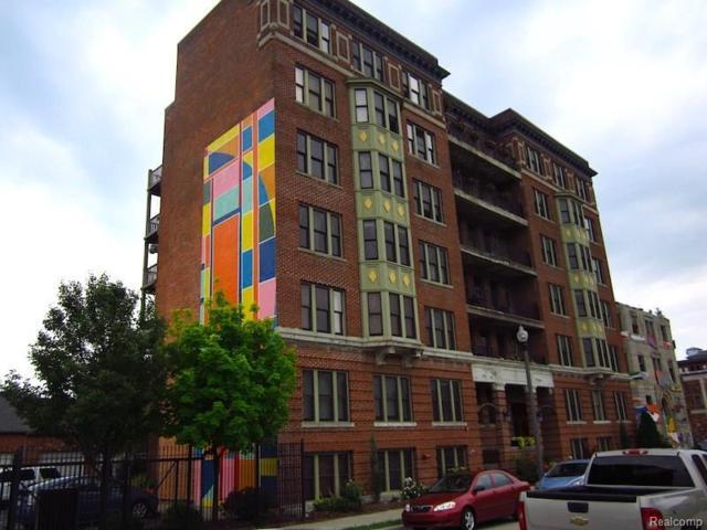 78 Watson Street #5, Detroit, MI 48201 (MLS #218028846) :: The Toth Team