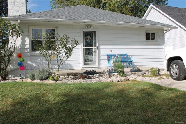 3650 Fernwood Drive, Frenchtown Twp, MI 48162 (MLS #218029092) :: The Toth Team