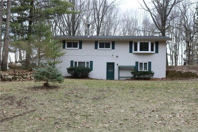 8266 Winans Lake Road, Green Oak Twp, MI 48116 (MLS #218029792) :: The Toth Team