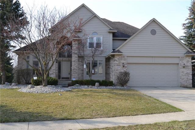 628 Seabrook Drive, Rochester Hills, MI 48307 (MLS #218031284) :: The Toth Team