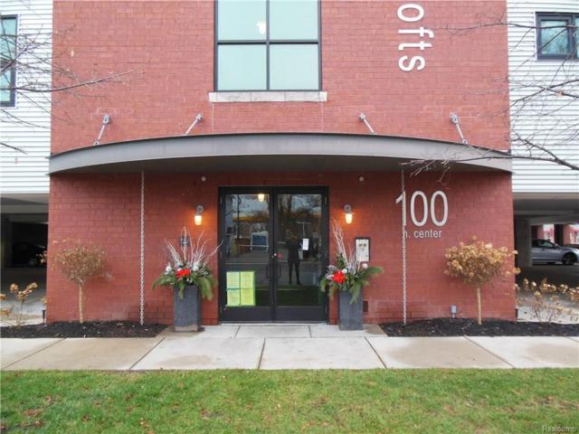 100 N Center Street #403, Royal Oak, MI 48067 (MLS #218031349) :: The Toth Team