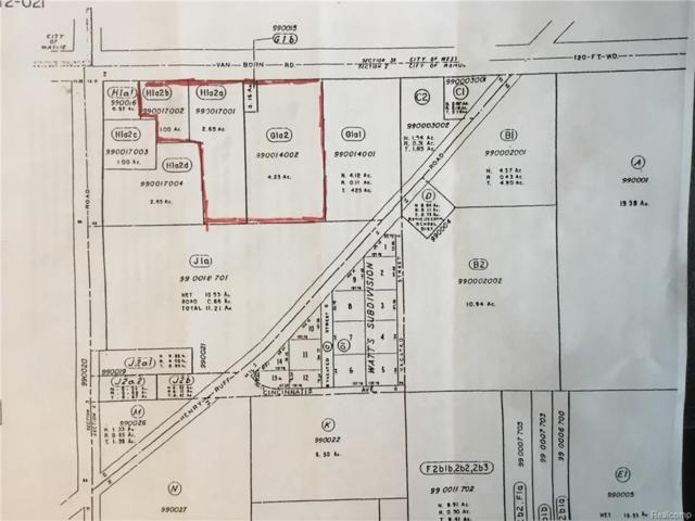 000 Van Born Road, Romulus, MI 48174 (#218031362) :: Duneske Real Estate Advisors