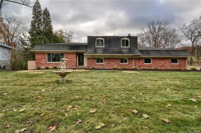 3225 W Long Lake Road, West Bloomfield Twp, MI 48323 (#218031401) :: RE/MAX Vision