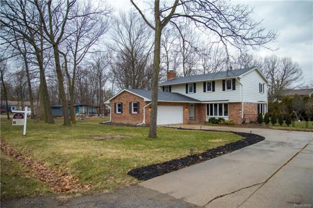 22035 Meridian Road, Grosse Ile Twp, MI 48138 (MLS #218031457) :: The Toth Team