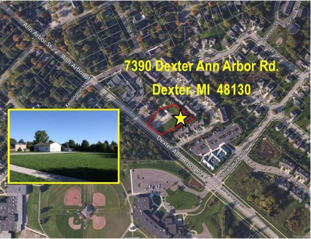 7390 Dexter - Ann Arbor Road, Dexter, MI 48130 (#543255847) :: Duneske Real Estate Advisors
