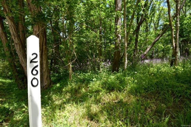260 Barton North Drive, Barton Hills Vlg, MI 48105 (MLS #543255831) :: The Toth Team