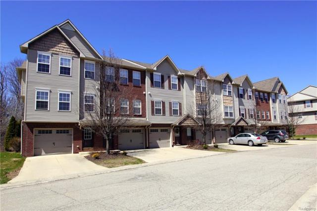 2177 Knotty Pine Trail #110, Howell, MI 48855 (#218032942) :: The Mulvihill Group