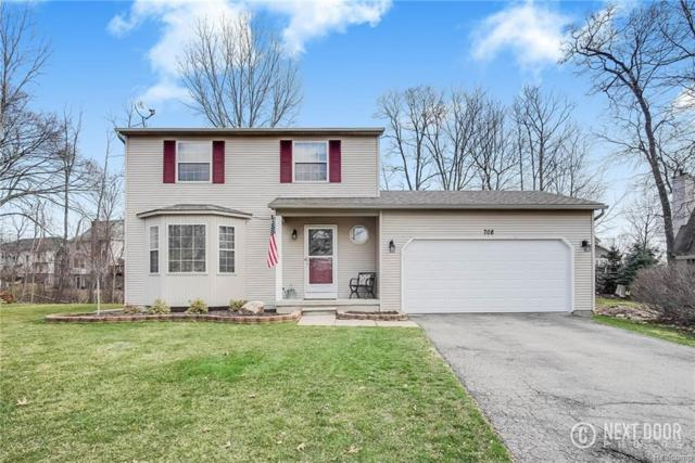 708 Eagle Heights Drive, South Lyon, MI 48178 (#218032943) :: The Mulvihill Group