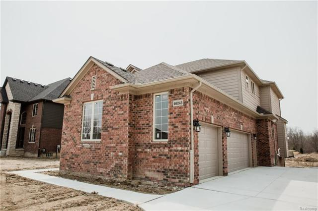 46243 Terrace Drive, Shelby Twp, MI 48317 (MLS #218033088) :: The Toth Team