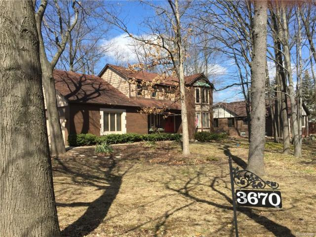3670 Winter Creek Road, Rochester Hills, MI 48307 (MLS #218033505) :: The Toth Team