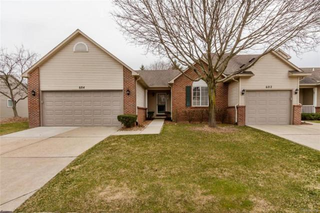 604 Woodberry Lane, Brighton, MI 48116 (#218033660) :: The Mulvihill Group