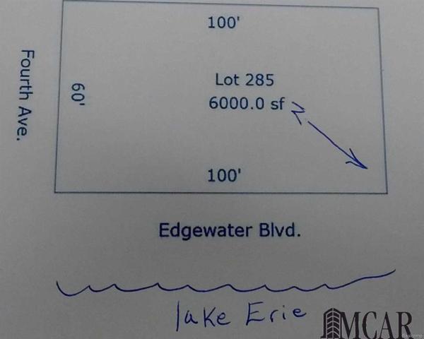 0 Edgewater, Monroe, MI 48162 (#57003452172) :: Duneske Real Estate Advisors