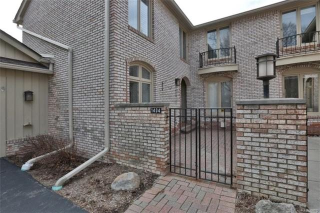 1404 Timberview Trail, Bloomfield Twp, MI 48304 (#218033867) :: Duneske Real Estate Advisors