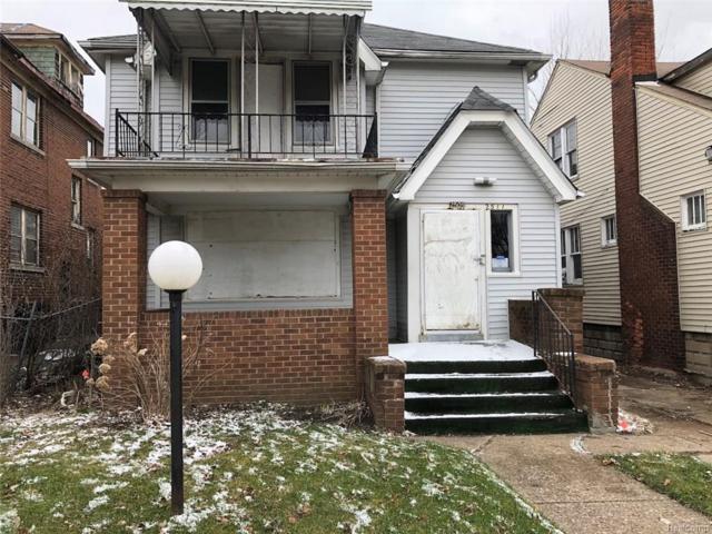 2509 Ford Street, Detroit, MI 48238 (#218033979) :: The Mulvihill Group