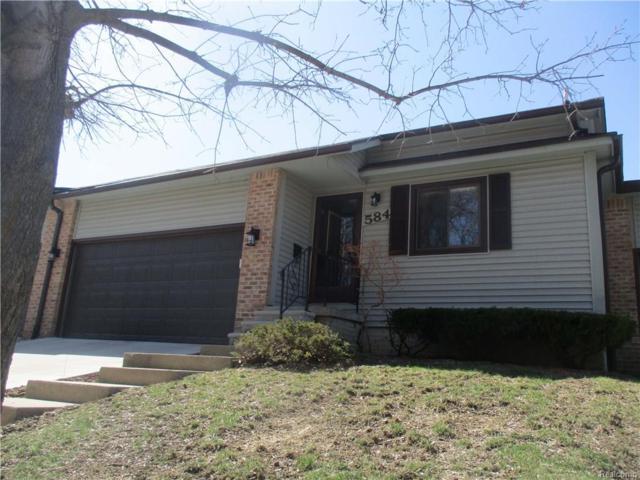 584 Oakbrook Circle #20, Flushing, MI 48433 (#218034296) :: Keller Williams West Bloomfield