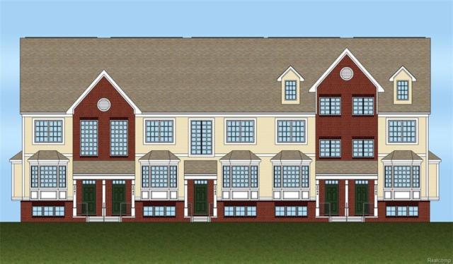 585 Village Lane #35, Milford Vlg, MI 48381 (#218034839) :: Duneske Real Estate Advisors