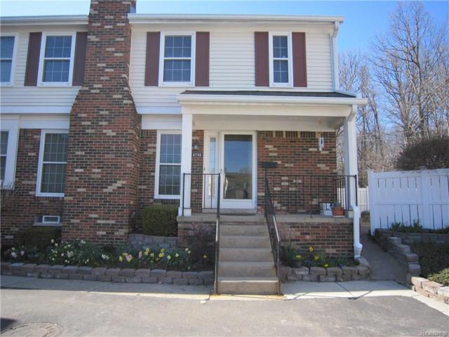 41746 Broquet Drive, Novi, MI 48167 (#218035851) :: Duneske Real Estate Advisors