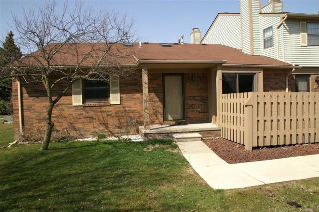 43628 W Arbor Way Drive #107, Canton Twp, MI 48188 (#218035856) :: Duneske Real Estate Advisors