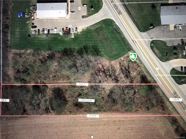 4634 Van Dyke Road, Almont Twp, MI 48003 (#218037983) :: The Buckley Jolley Real Estate Team