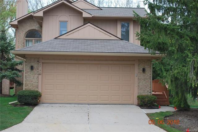 22150 River Ridge Trail #110, Farmington Hills, MI 48335 (#218038805) :: Duneske Real Estate Advisors