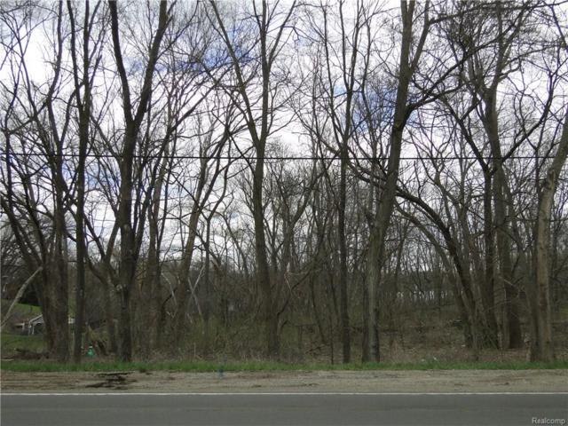 Lot A Clintonville Road, Waterford Twp, MI 48329 (#218039006) :: RE/MAX Classic