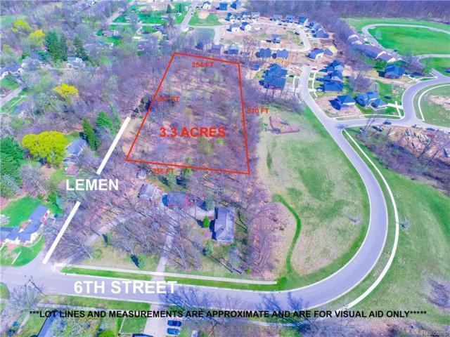 0000 Sixth, Fenton, MI 48430 (#218039652) :: Duneske Real Estate Advisors