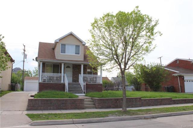 4731 Palmer Street, Dearborn, MI 48126 (MLS #218039844) :: The Toth Team