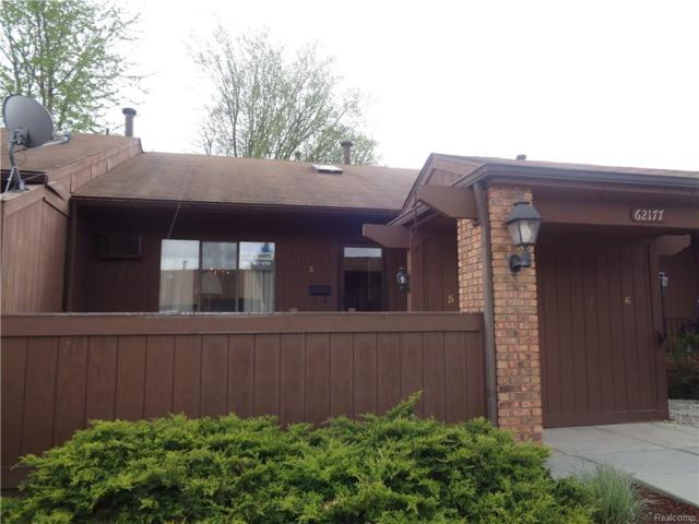 62177 Ticonderoga #5, South Lyon, MI 48178 (#218039887) :: Duneske Real Estate Advisors