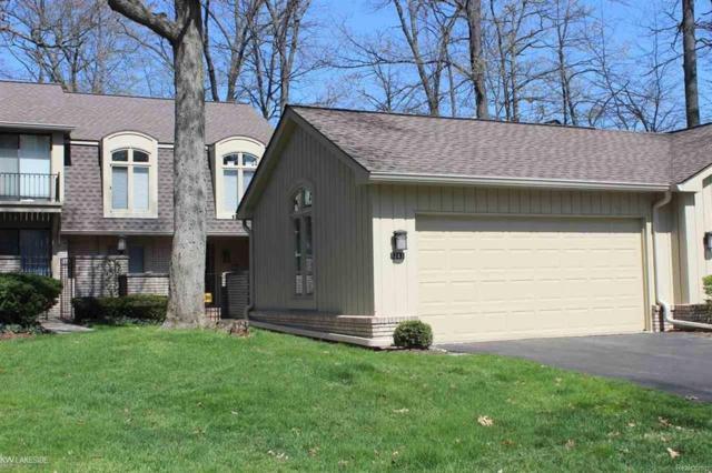 1243 S Timberview Trail Bldg D, Unit 19, Bloomfield Twp, MI 48304 (#58031346997) :: Duneske Real Estate Advisors