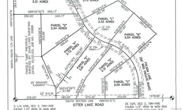 Parcel M Folsom Lane Road, Marathon Twp, MI 48464 (#218040132) :: RE/MAX Classic