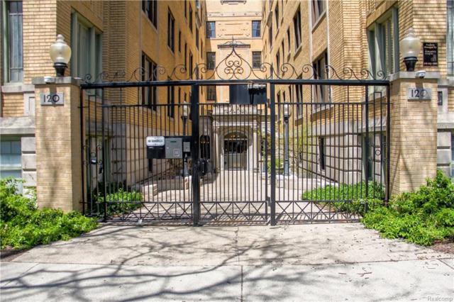 120 Seward #310 Street #310, Detroit, MI 48202 (#218040474) :: Duneske Real Estate Advisors
