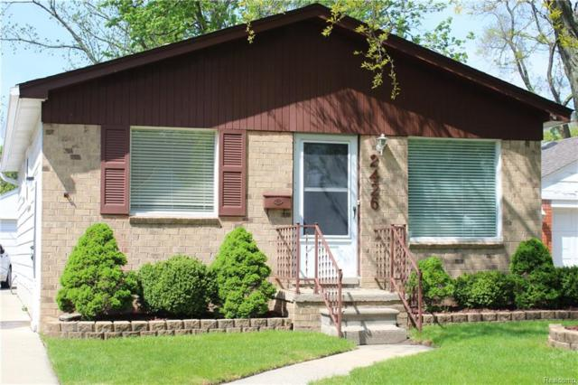 2426 Wiltshire Road, Berkley, MI 48072 (#218041697) :: RE/MAX Classic