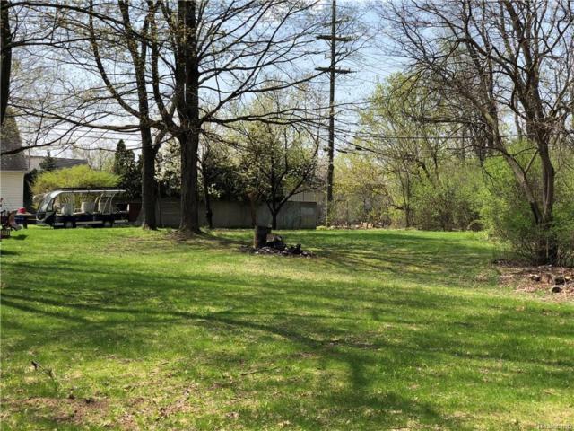 0000 Pontiac Trail, West Bloomfield Twp, MI 48323 (#218041848) :: RE/MAX Classic