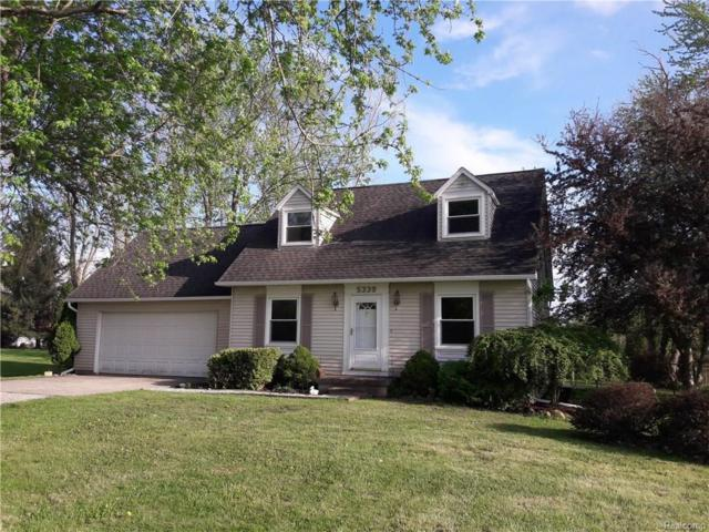 5339 Lippincott Road, Elba Twp, MI 48446 (#218042654) :: RE/MAX Classic