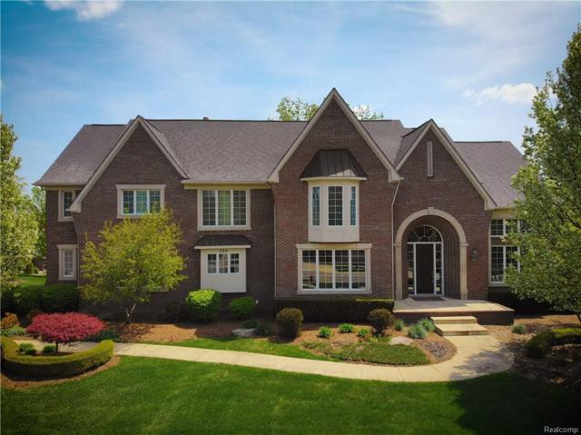 734 Wellington Circle, Rochester Hills, MI 48309 (#218042700) :: RE/MAX Classic