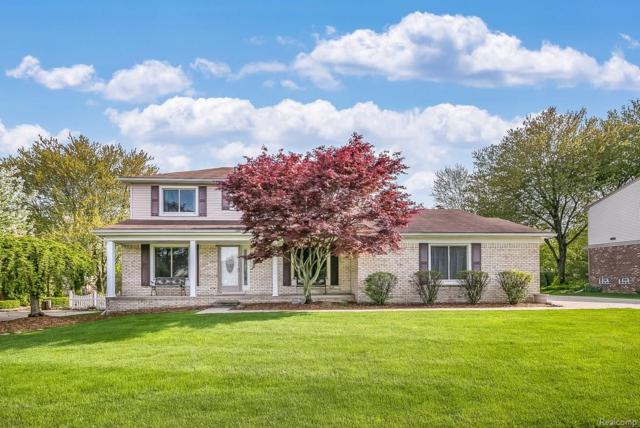 46299 Quail Ridge Drive, Plymouth Twp, MI 48170 (#218043426) :: Duneske Real Estate Advisors