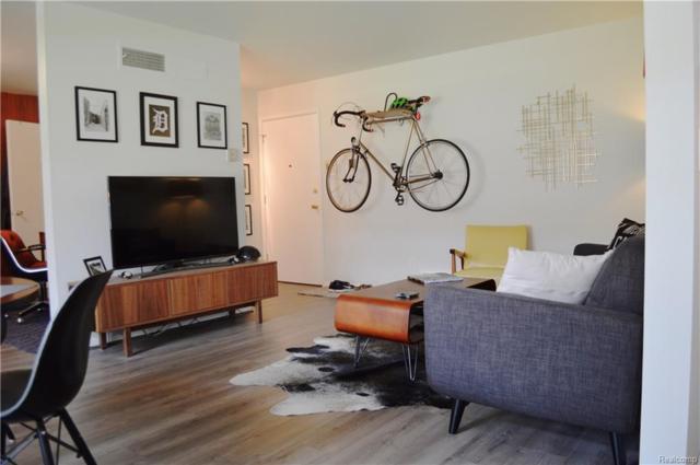 1550 Cherboneau Place #120, Detroit, MI 48207 (#218043483) :: RE/MAX Classic