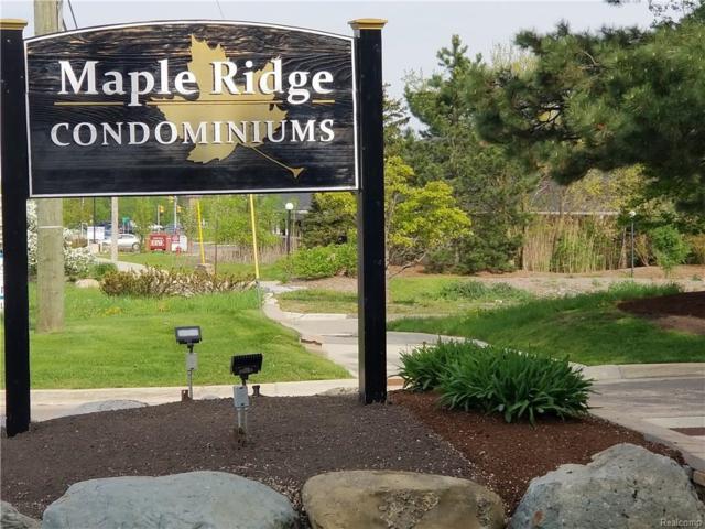 6580 Ridgefield Circle #101, West Bloomfield Twp, MI 48322 (#218043515) :: RE/MAX Classic